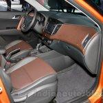 Hyundai ix25 front seat at 2014 Guangzhou Motor Show