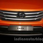 Hyundai ix25 grille at 2014 Guangzhou Motor Show
