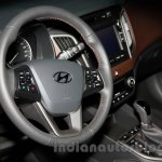 Hyundai ix25 steering unit at 2014 Guangzhou Motor Show