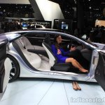 Infiniti Q80 Inspiration Concept interior at the 2014 Los Angeles Auto Show