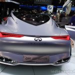 Infiniti Q80 Inspiration Concept rear at the 2014 Los Angeles Auto Show