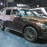Infiniti QX80 Limited Edition front three quarters left at the 2014 Los Angeles Auto Show