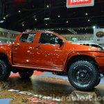 Isuzu D-Max special edition side at the 2014 Thailand Motor Expo