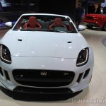 Jaguar F-Type AWD front at the Los Angeles Auto Show 2014
