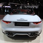Jaguar F-Type AWD rear at the Los Angeles Auto Show 2014