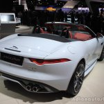 Jaguar F-Type AWD rear three quarters right at the Los Angeles Auto Show 2014