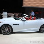 Jaguar F-Type AWD side at the Los Angeles Auto Show 2014