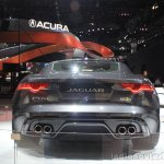 Jaguar F-Type R Coupe AWD rear at the Los Angeles Auto Show 2014