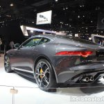 Jaguar F-Type R Coupe AWD rear three quarters at the Los Angeles Auto Show 2014
