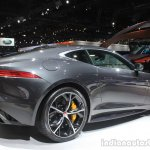 Jaguar F-Type R Coupe AWD rear three quarters right at the Los Angeles Auto Show 2014