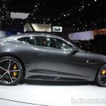 Jaguar F-Type R Coupe AWD side profile at the Los Angeles Auto Show 2014
