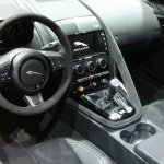 Jaguar F-Type manual dashboard