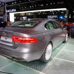 Jaguar XE rear quarter at the 2014 Guangzhou Auto Show