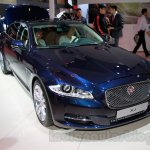 Jaguar XJ Cambridge edition front quarter at 2014 Guangzhou Auto Show