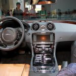 Jaguar XJ Cambridge edition interior at 2014 Guangzhou Auto Show