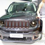 Jeep Renegade Apollo Edition front at 2014 Guangzhou Auto Show