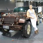 Jeep Wrangler Sundancer Edition at 2014 Guangzhou Auto Show
