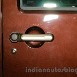 Jeep Wrangler Sundancer Edition door handle at 2014 Guangzhou Auto Show