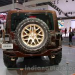 Jeep Wrangler Sundancer Edition rear at 2014 Guangzhou Auto Show