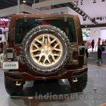 Jeep Wrangler Sundancer Edition rear at 2014 Guangzhou Auto Show