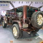 Jeep Wrangler Sundancer Edition rear quarter at 2014 Guangzhou Auto Show