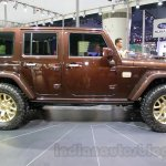 Jeep Wrangler Sundancer Edition side at 2014 Guangzhou Auto Show