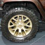 Jeep Wrangler Sundancer Edition wheel at 2014 Guangzhou Auto Show