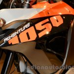 KTM 1050 Adventure decal at EICMA 2014