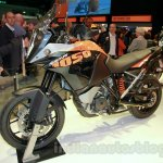 KTM 1050 Adventure front left three quarter at EICMA 2014
