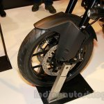 KTM 1050 Adventure front wheel at EICMA 2014