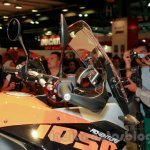 KTM 1050 Adventure handlebar at EICMA 2014