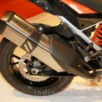 KTM 1050 Adventure silencer at EICMA 2014