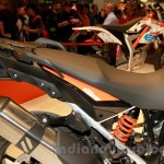 KTM 1050 Adventure tailpiece at EICMA 2014