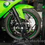 Kawasaki Ninja 250SL front disc at the EICMA 2014