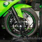 Kawasaki Ninja 250SL front disc at the EICMA 2014