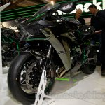 Kawasaki Ninja H2 front three quarter at EICMA 2014