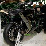 Kawasaki Ninja H2 front three quarter at EICMA 2014