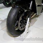 Kawasaki Ninja H2 front wheel at EICMA 2014
