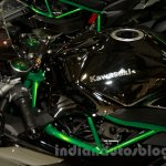 Kawasaki Ninja H2 fuel tank at EICMA 2014