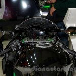 Kawasaki Ninja H2 instrument panel at EICMA 2014