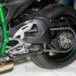 Kawasaki Ninja H2 rear swing arm at EICMA 2014