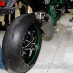 Kawasaki Ninja H2 rear tyre at EICMA 2014
