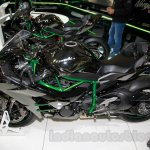 Kawasaki Ninja H2 side at EICMA 2014