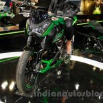 Kawasaki Z300 front profile at the EICMA 2014