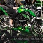 Kawasaki Z300 front quarters at the EICMA 2014