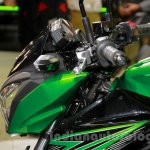 Kawasaki Z300 handlebar at the EICMA 2014