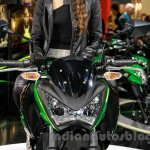 Kawasaki Z300 headlight at the EICMA 2014
