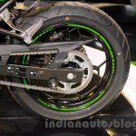 Kawasaki Z300 rear disc at the EICMA 2014