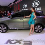 Kia KX3 Concept side at 2014 Guangzhou Auto Show
