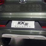 Kia KX3 spied badge